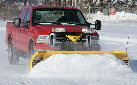 Snow Plow Light Duty Truck